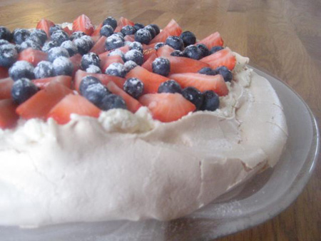 My first every pavlova